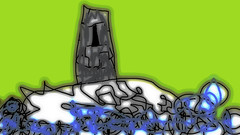Island Belltower (Drew Daves) Tags: blur lines mouse sadness graphics poetry poem handdrawn selfpublishing