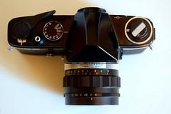 La calotta (fotocamere storiche) Tags: konica fp hexanon camerapedia fotografiaanalogica cameracollector konicafp collezionismofotografico fotocamerestoriche hexanonf