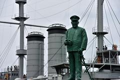 Admiral Togo (naitokz) Tags: park statue japan bronze togo admiral yokosuka mikasa     heihachiro