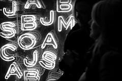 light up letters of love (bostankorkulugu) Tags: uk greatbritain light england white black color colour reflection london art window colors westminster shop glitter shopping back artwork graphics colorful europe neon colours display unitedkingdom geometry letters installation shopwindow colourful oxfordstreet bostanci westend bostan korkut graphism bostankorkulugu