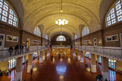 Immigrant Building at Ellis Island, New York (rafaelpuerto) Tags: nyc ny newyork ellis manhattan 1018 immigrant ellisisland rafaelpuerto