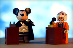 Elections (Frost Bricks) Tags: lego mickey mouse elections