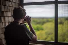 Up The Tower (Evan's Life Through The Lens) Tags: life camera blue friends light summer vacation sky orange color green glass beautiful field weather self vintage myself out lens drive long day bright bokeh weekend vibrant sony sunday sunny adventure clear explore about depth 2016 a7s