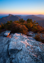 Last Chance (Josh Stamm) Tags: winter sunset sky sun sunlight mountains landscape outdoors northcarolina linville clear summit gorge february northcarolinamountains joshstamm