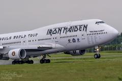 Ed Force One - Boeing 747-428, TF-AKK, CC666 (Michael Hallam Plane & Simple Photography) Tags: eddie boeing ironmaiden ema maiden 747 jumbo eastmidlands eastmidlandsairport ef1 edforceone
