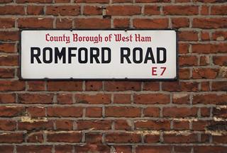 Romford Road, E7