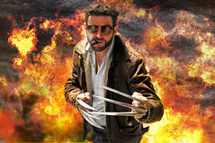 Wolverine Cosplay (photographic-leigh) Tags: film movie comic fantasy marvel blades wolverine