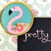 "Pretty Flamingo Handbag Mirror • <a style=""font-size:0.8em;"" href=""http://www.flickr.com/photos/29905958@N04/27098584811/"" target=""_blank"">View on Flickr</a>"