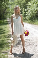 #Bohodress (Natural World Gallery) Tags: bohostyle summerdress whitedress summerfashion blondemodel sexyblondeteen