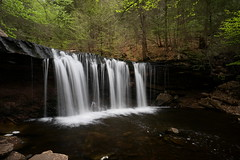 Oneida Falls (Tim Devine Photography) Tags: zeiss spring pennsylvania kitchencreek rickettsglenstatepark fallstrail ganogaglen oneidafalls sonya7rii ilce7rm2 loxia2821
