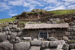 IMG_4478 (monique.timlick) Tags: saqsaywaman cusco peru stonework bricks inca historical nationalpark historicalruins ruins bluesky clouds green outdoors nature old architecture southamerica canon