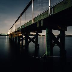 West Covington Pier (seikoesquepayne) Tags: night olympus baltimore f28 em1 714mm