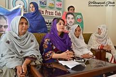 Mrs Shazia Langau Press Conference (watanpaal Photography) Tags: pakistan nab quetta nationalparty balochistan nationalaccountabilitybureau megacorruptionscandalbalochistan womenpolitician