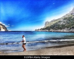 Photo accepted by Stockimo (vanya.bovajo) Tags: man beach sport living healthy exercise fat running run jogging obese iphone iphonegraphy stockimo
