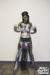 MHC 2016 Body Art Fashion Show (Midwest Haunters Convention) Tags: makeup bodypaint haunting bodypainting bodyart mhc haunt haunter bafs midwesthauntersconvention bodyartfashionshow mhc2016