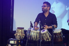 Shapla Salique (2016) 05 (KM's Live Music shots) Tags: india drums worldmusic tabla southbankcentre alchemyfestival alokverma lalongeeti fridaytonic shaplasalique