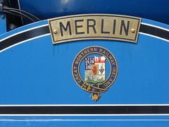 Merlin - Great Northern Railway (Ireland) (nathanlawrence785) Tags: ireland station train compound track great rail railway loco class steam v londonderry locomotive siding northern translink society caf 440 gnr waterside nir rpsi gnri derrt