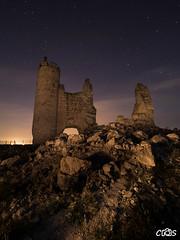 Castillo de Caudilla (server.carlos) Tags: castillo caudilla toledo nocturna estrellas startrails circumpolar