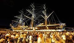 the Visitors  (Alessandro Lo Piccolo Hollweger) Tags: marinamilitare crowd fullhouse sicily sailor visitors messina amerigovespucci italiannavy vesselschool