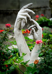 Hold My Hand (margatt2012) Tags: sculpture friedhof paris cemetery memorial touch feel sensual remembrance delicate montparnasse cemeteire