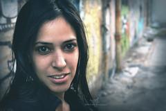Reut  -  (dR. SaM FaST) Tags: portrait people urban face graffiti nikon d70