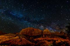Desert Milky Way (dhc_photos) Tags: milkyway night nightphotography astronomy astrophotography desert stars shootingstar