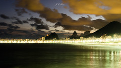@ Praia do Leme (Jos Eduardo Nucci) Tags: sunset brazil nature riodejaneiro lights nightscape nikkor fortedecopacabana leme 2016 18200mm wonderfulcity d7000 joseduardonucci