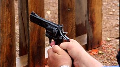 2016 IDPA West Virginia State Championship (zeroflux-dot-com) Tags: rain gun westvirginia sw revolver firearm competitor statechampionship smithwesson 586 idpa actionshooting pntc zeroflux internationaldefensivepistolassociation peacemakernationaltrainingcenter