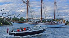 sail ship (Leifskandsen) Tags: oslofjorden water sea drive sail vassholmen travel voyage navigation passengers boat pleasure summer sunshine camera leica living leifskandsen skandsenimages scandinavia norway nature