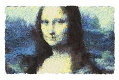 mona lisa - progress 3 (mark knol) Tags: monalisa generative abstract art mark knol progress