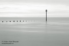 Dot, dot, dot...dash (Matthew Nuttall Photography) Tags: beach blyth coast coastline groyne le longexposure necoast northeastcoast northumberland sea seascape sunrise water