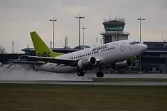 YL-BBM Boeing  737-522  B735 BTI Air Baltic RIX (sauliusjulius) Tags: air baltic boeing riga rix bti evra 737522 b735 ylbbm