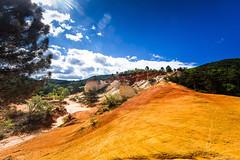 Les ocres de Rustrel: le Sahara Provenal-001 (bonacherajf) Tags: lubron rustrel ocres colorado provence luberon