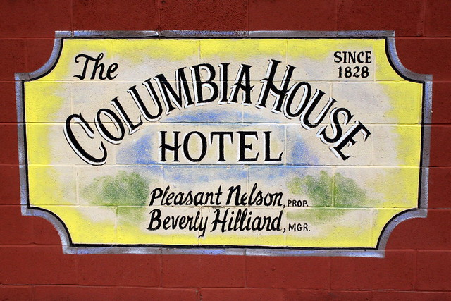 Columbia, TN Mural: Columbia House Hotel