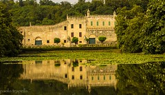 Castello di Catajo (paolotrapella) Tags: castle water case reflected acqua castello monumenti riflesso catajo