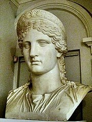 Ancient Rome. Juno/Hera Ludovisi, Portrait of Antonia the Younger (b.36 BC-d.37 AD), daughter of Mark Antony & Octavia the Minor, niece of Emperor Augustus, wife of Drusus, mother of 4th Emperor Claudius and Germanicus (father of 3rd Emperor Caligula) (mike catalonian) Tags: juno octavia hera claudius ancientrome markantony drusus germanicus antoniaminor livilla antoniatheyounger