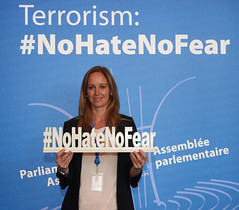 #NoHateNoFear (Council of Europe/Parliamentary Assembly) Tags: france democracy europe strasbourg council humanrights ruloflaw