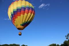 IMG_1385 (thehachland) Tags: sunset fire flames balloon hotairballoons ballstonspa saratogacounty saratogacountyfairgrounds saratogaballoonandcraft