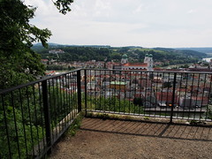 P5280462 (photos-by-sherm) Tags: museum germany spring high panoramic views fortifications defensive veste hilltop passau oberhaus