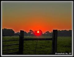 Summer SSolstice Sunrise (Snapshots by JD) Tags: sun oklahoma set rise westville