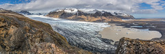 Skaftafellsjkull (Bill Bowman) Tags: iceland glacier sland vatnajkull skaftafellnationalpark skaftafellsjkull vatnajkullnationalpark sjnarnpa