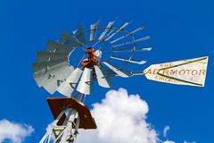 _MG_0074-2 (Explore) (918monty) Tags: industry windmill farming icon machinery waterpump farmequipment ranching windpowered aermotor americanwestimagery