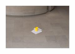 Jaune (hlne chantemerle) Tags: paris jaune eau rainyday louvre pluie pyramide yelllow seau fuite jourdepluie