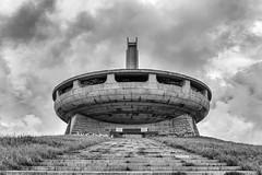 Buzludzha Monument alternate (philiplewis100) Tags: building monument architecture sofia communist communism bulgaria buzludzha