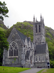 Gothic church at Kylemore Abbey, County Galway (midvale2) Tags: ireland kylemore