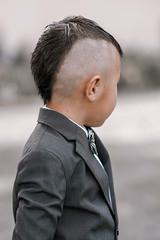 Logan (r3ddlight) Tags: sonya6300 sony85mmgm sonyphoto asianboy child kids suite hair cut style