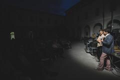 Visioni Sonore 011 (Cinemazero) Tags: jazz biblioteca chiostro pordenone busterkeaton cinemamuto jorisivens cinemazero zerorchestra visionisonore claudiocojaniz giannimassarutto massimodemattia