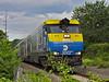 Heading Home (Joseph Stroppel) Tags: road summer ny speed island evening long crossing diesel sunday rail double bayport rush lirr 413 decker emd de30ac