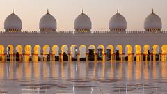Grand Mosque Sheikh Al Zayed, Abu Dhabi (Rodney Topor) Tags: longexposure architecture uae mosque abudhabi bluehour unitedarabemirates grandmosque canonef24105mmf4lisusm