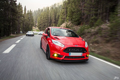 Ford Fiesta ST (Jpog photographie) Tags: summer mountain france alps ford st montagne alpes french lotus sunny roadtrip renault sirius t rs caterham izoard r300 cayolle